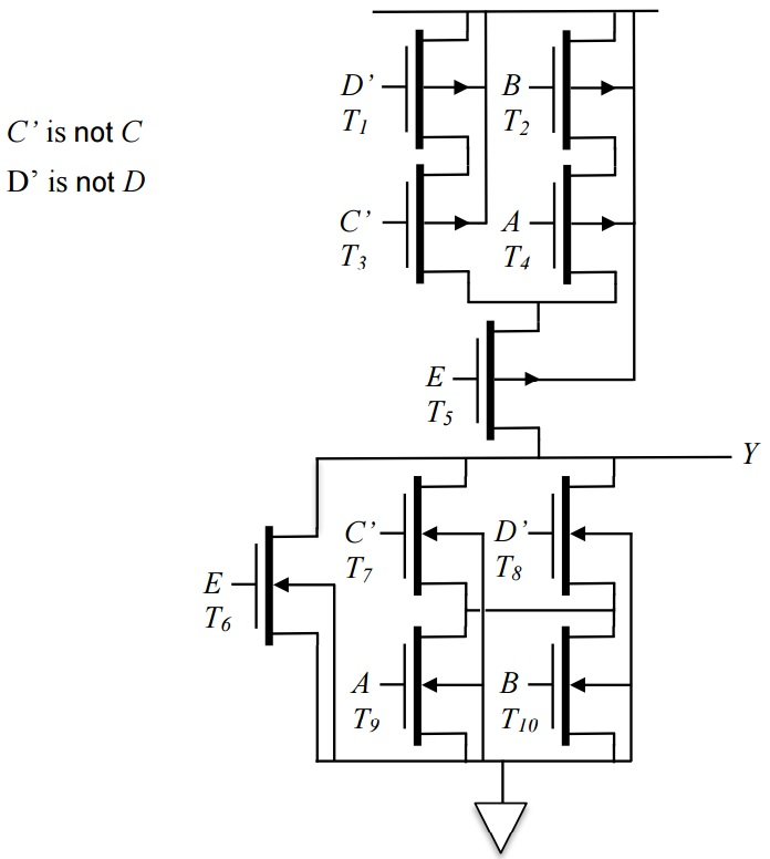 Sizing transistors for a CMOS circuit? - Electrical Engineering