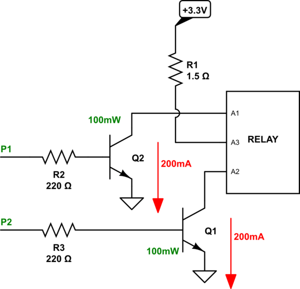 latching relay driver
