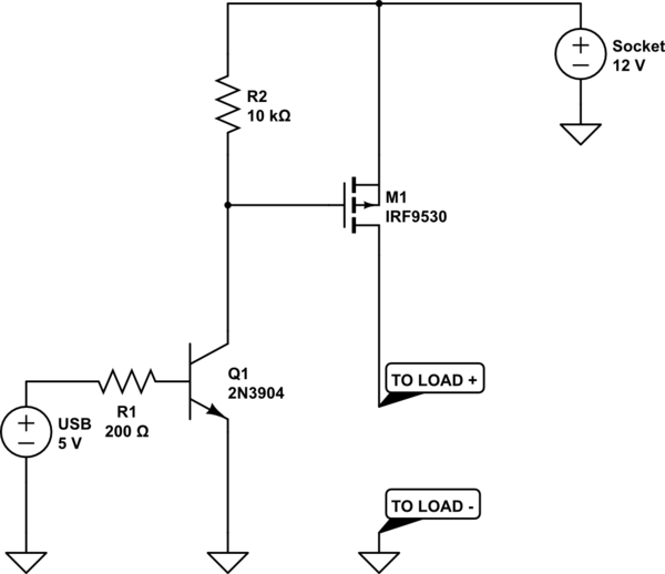 led simple transistor question