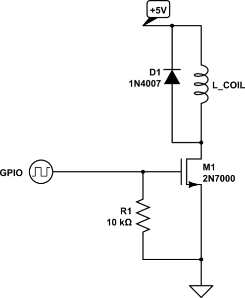 relay schematic   120vac coil