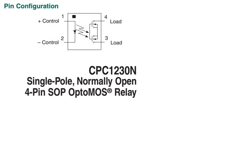 4 pin relay datasheet