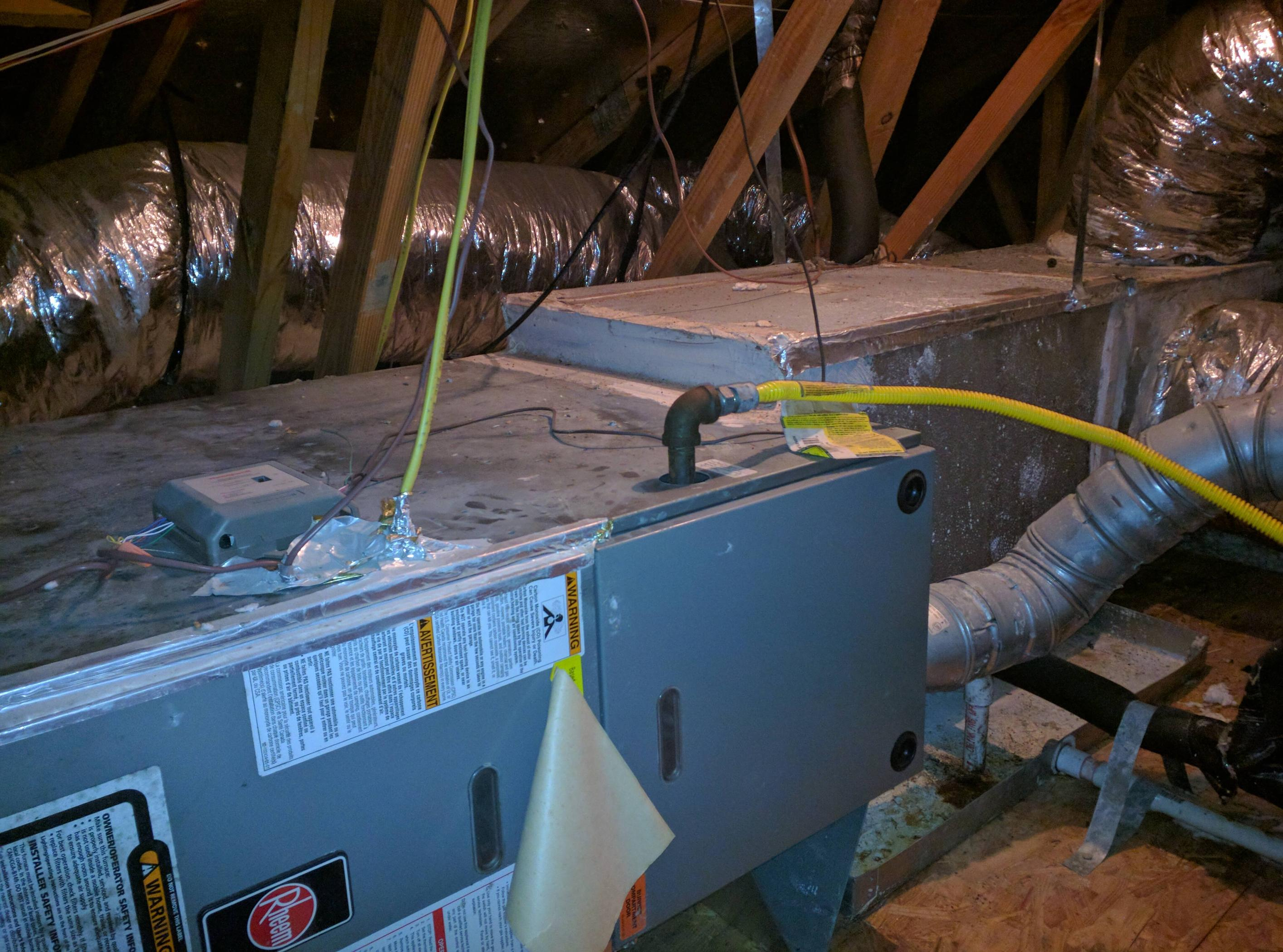 Garage Attic Air Conditioner How Do I Open Attic A C Unit To Perform Maintenance Home