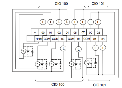 omron plc cable wiring diagram