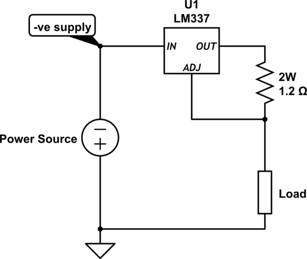 how do i build the current regulator circuit referred to on the lm337