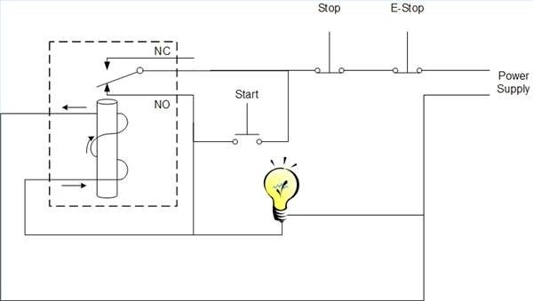 power - How to use an E-Stop rated at 10A for higher current