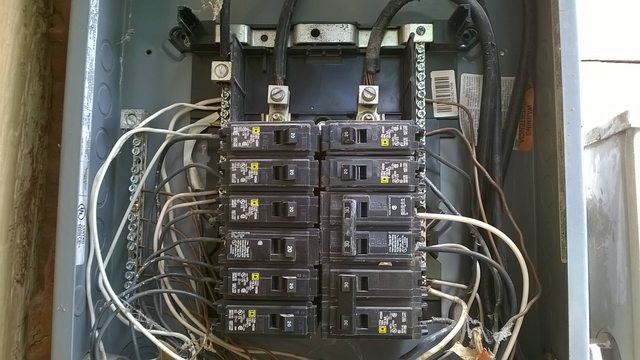 Electrical Panel Can A Main Breaker Box Be Bonded At The