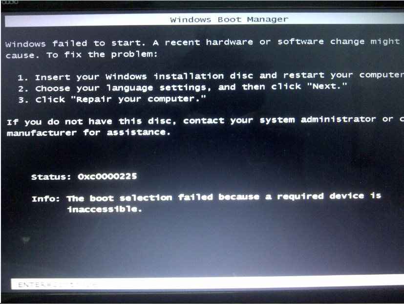 How To Fix Boot Error Caused By Dual Boot With Windows 7