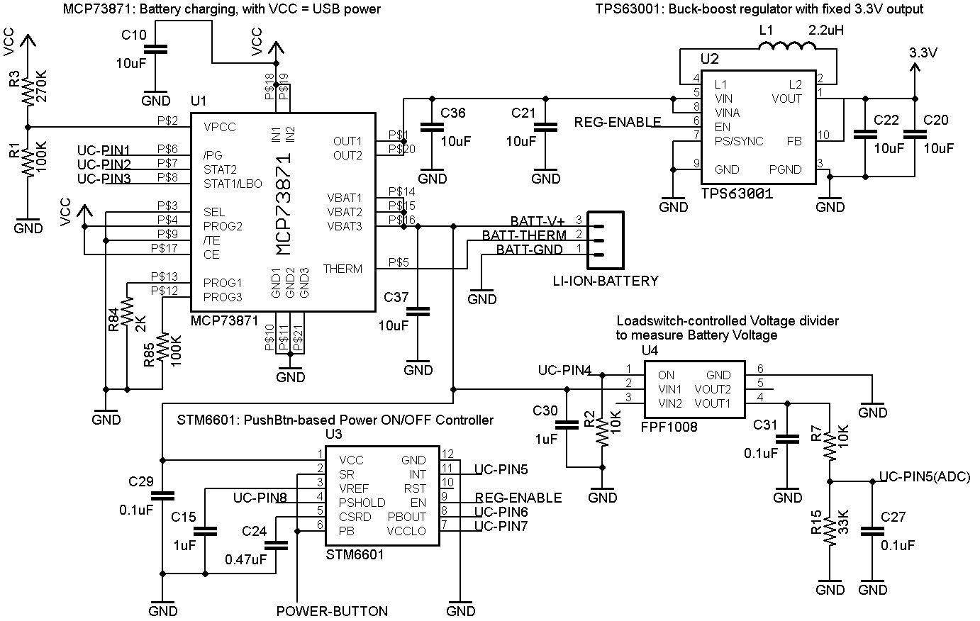 usb hub schematic design