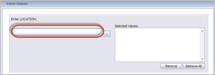 Crystal Reports for Enterprise 42 - List of Values  Dynamic