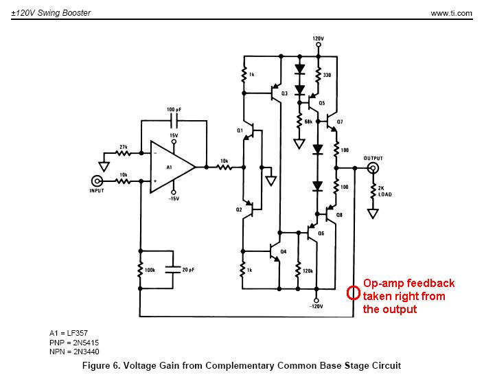 voltage regulator with op amp and transistors