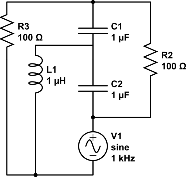 lcr resonance circuit