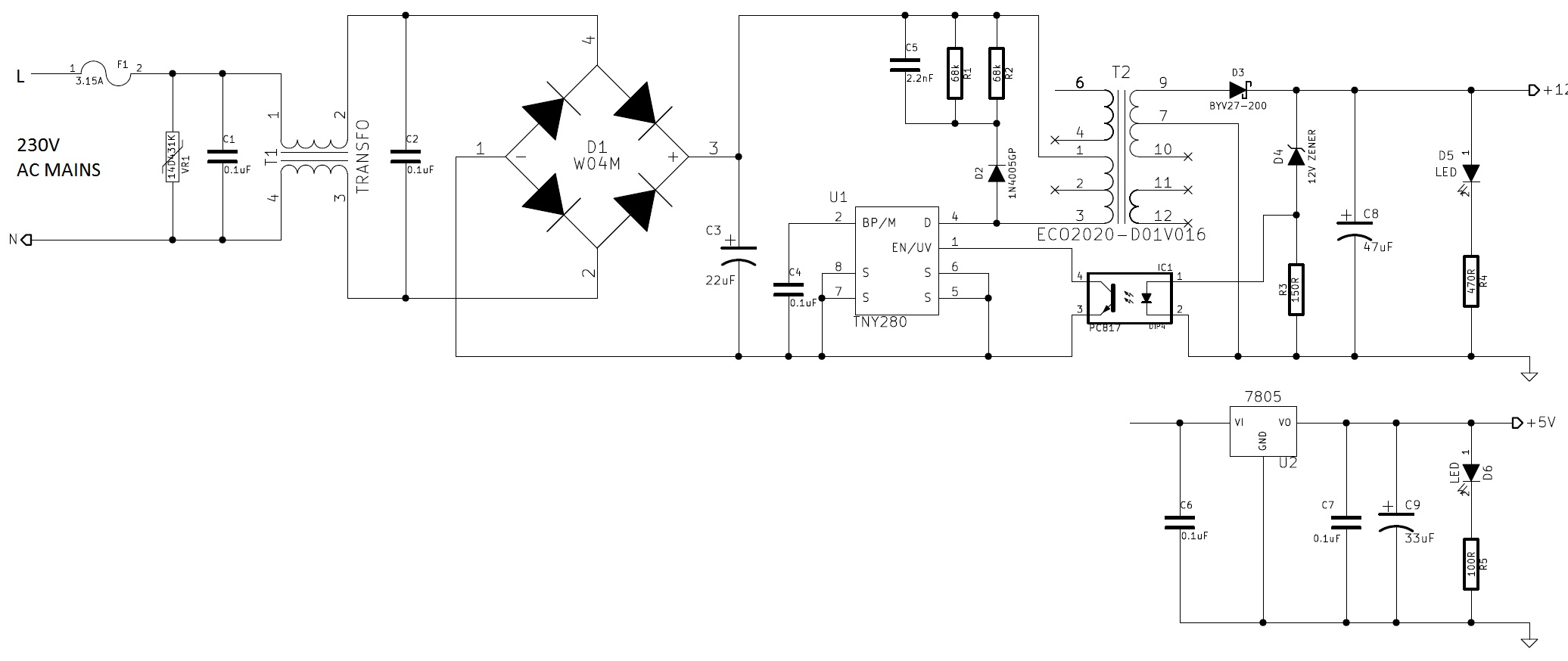 opto coupled discrete pulse stretcher
