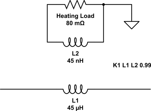 inductive heating circuit