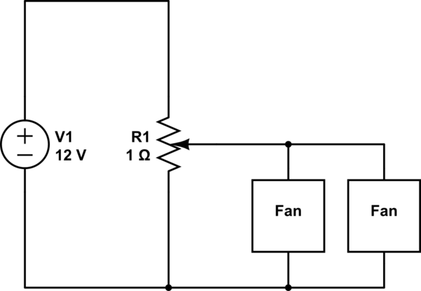 dc fan controller circuit