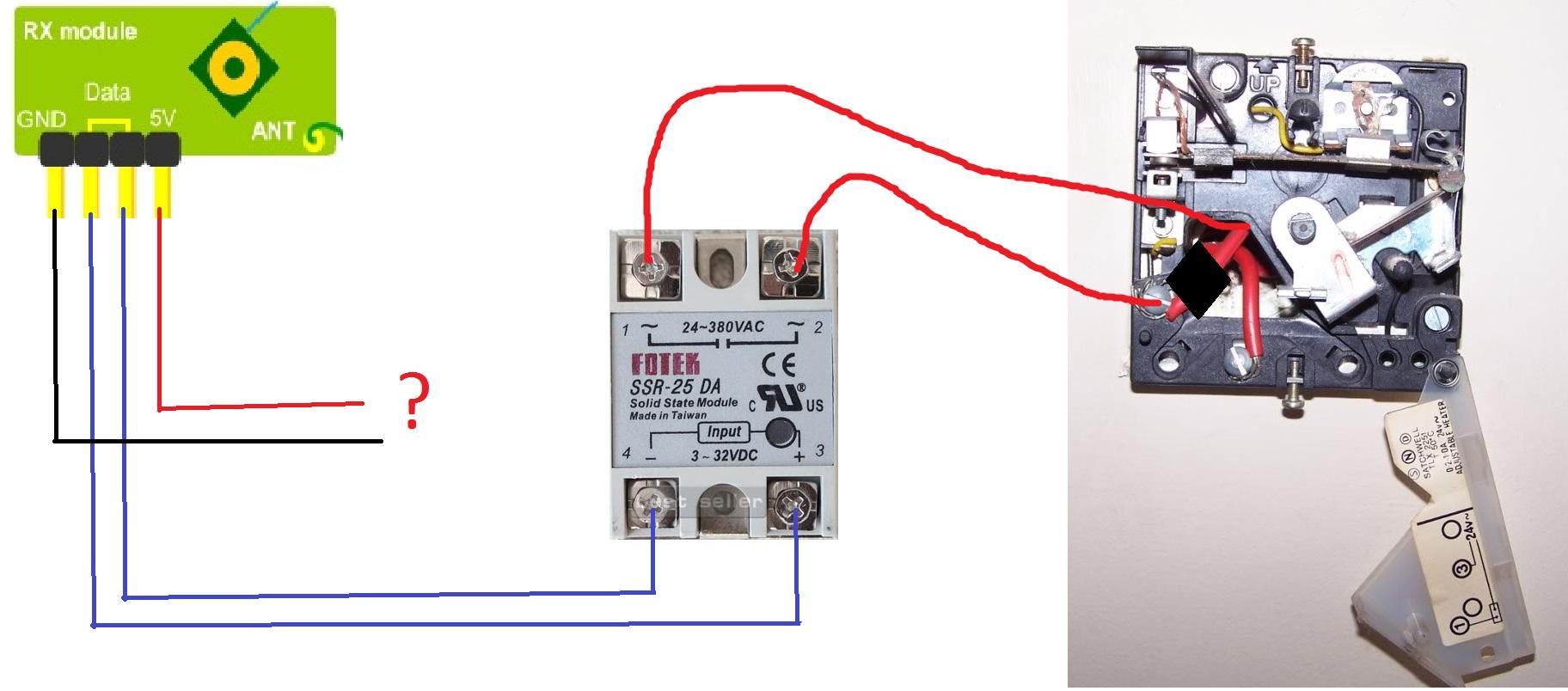 hvac panel wiring