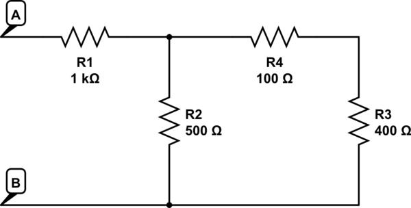 resistor equivalent circuit