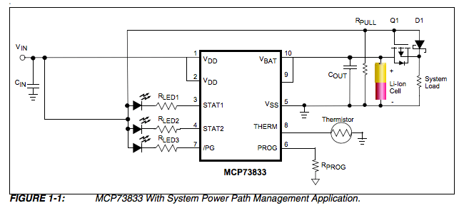 mosfet battery charger