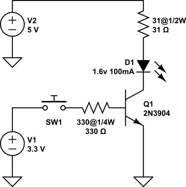 3v led circuit