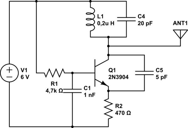 rf transmitter receiver circuit what39s wrong