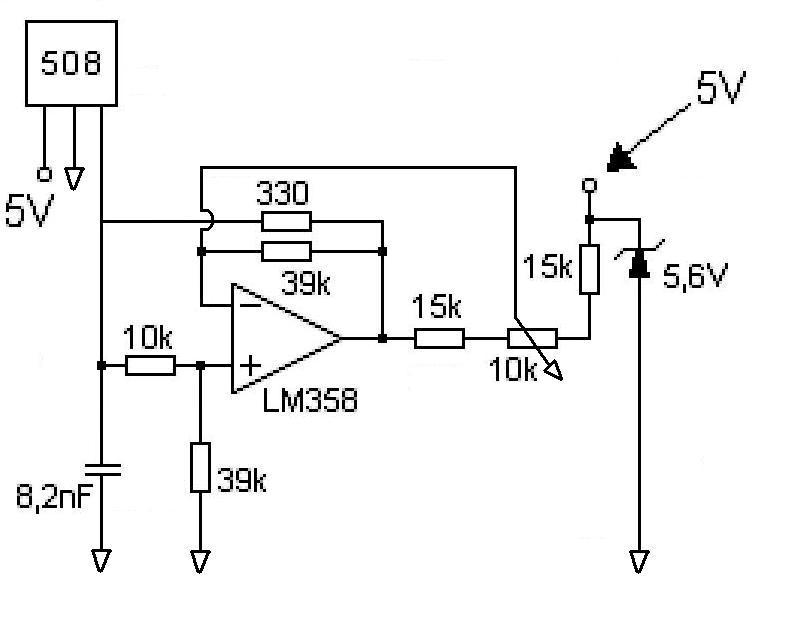 operational amplifier - Problem with Hall effect sensor circuit to
