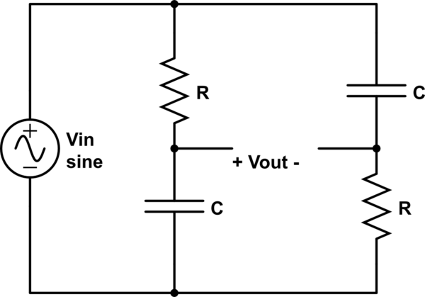 rc circuit transfer function