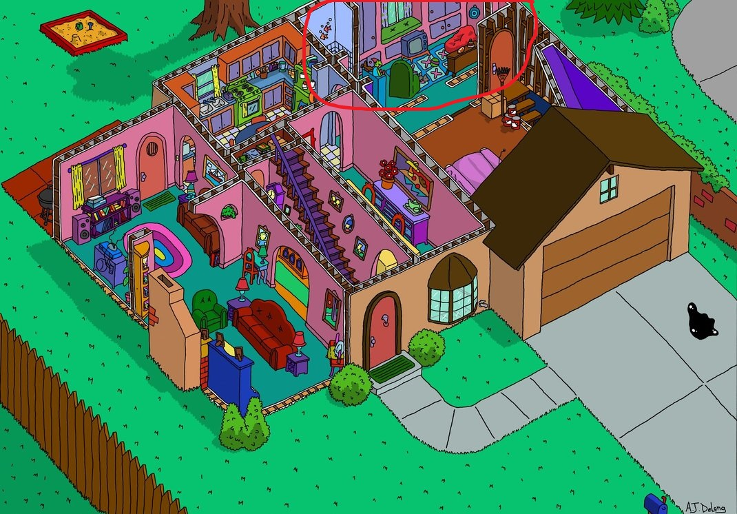Does This Room Exist In The Simpsons39 House Movies Tv