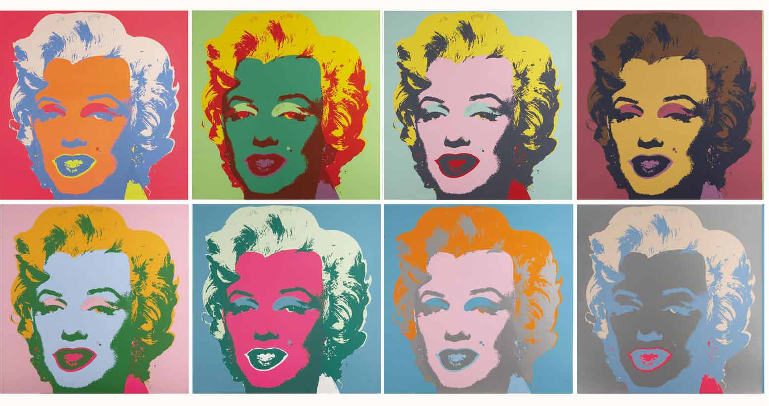 Marilyn Pop Art Andy Warhol Image Processing How To Ask Mathematica To Imitate Andy