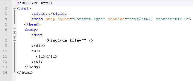 Notepad++ loses HTML tags highlighting after any \u003c of Mako - html template code