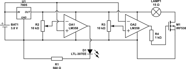 low voltage disconnect circuit schematic