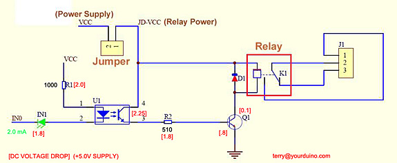 What are the pins for in this Relay module? - Electrical Engineering