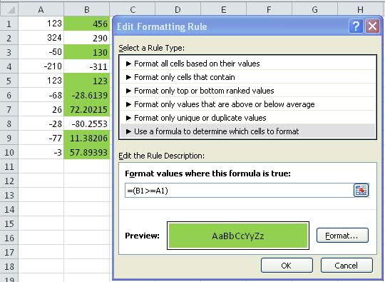 microsoft excel 2010 - How can I express \