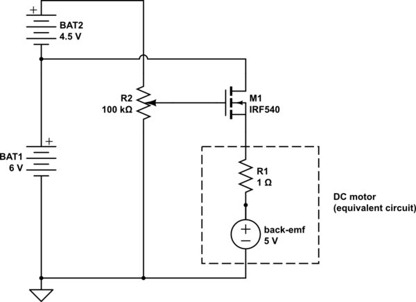 pwm dc motor controller using mosfets and ir2110 hbridge driver
