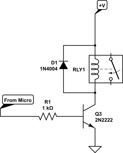 electrical relay parameters