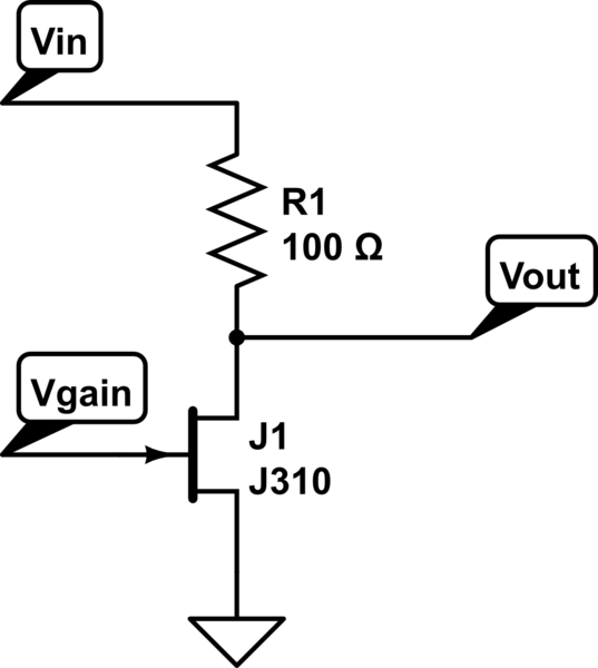 electronics attenuator