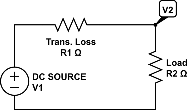 is the total current in this circuit add r1 and r2 25 25 50
