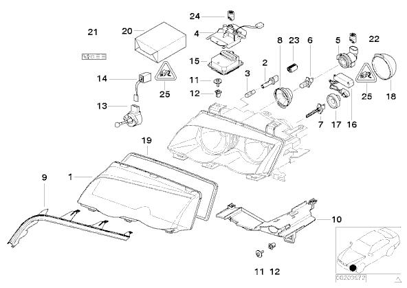 325ci Motor diagram