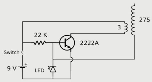 transistors - Working of miniature Tesla coil? - Electrical