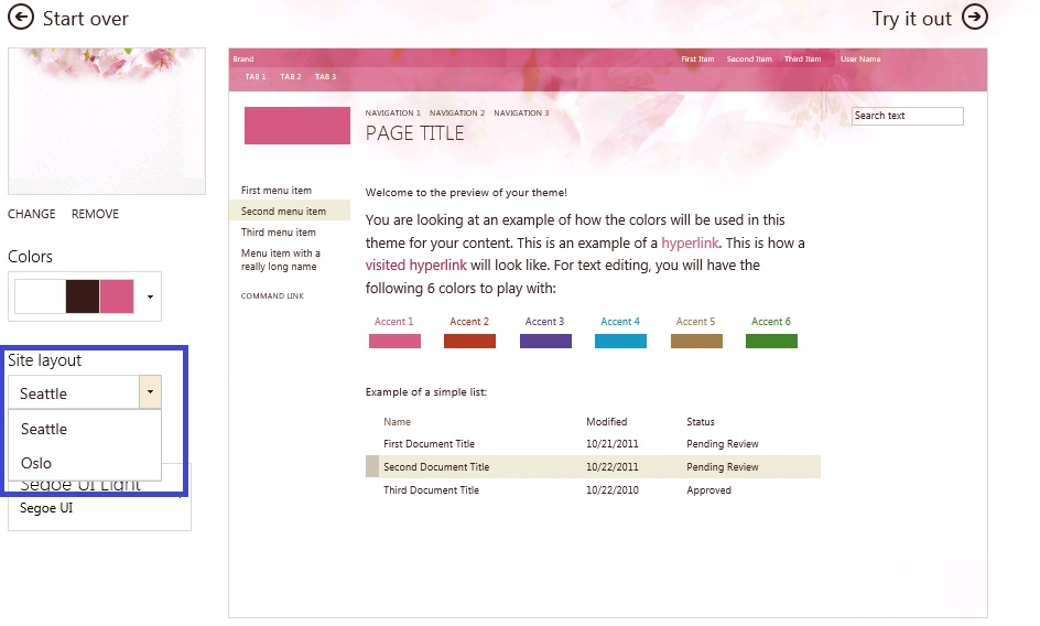 2013 - How to apply custom site layout on my Team Site? - SharePoint