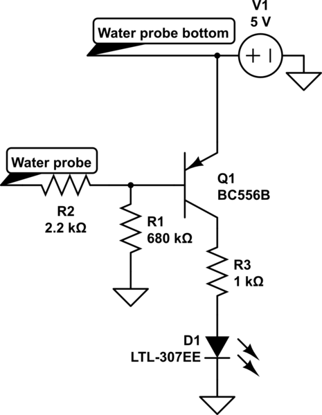 555 timer water level alarm