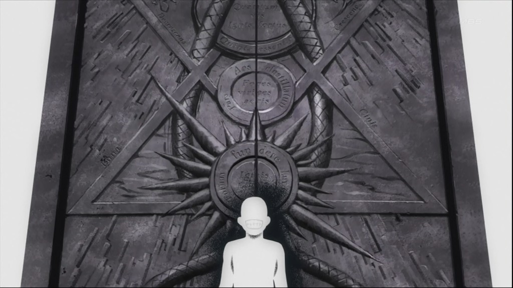 Fma Wallpaper Quotes Fullmetal Alchemist Series What Is Depicted On The Gate