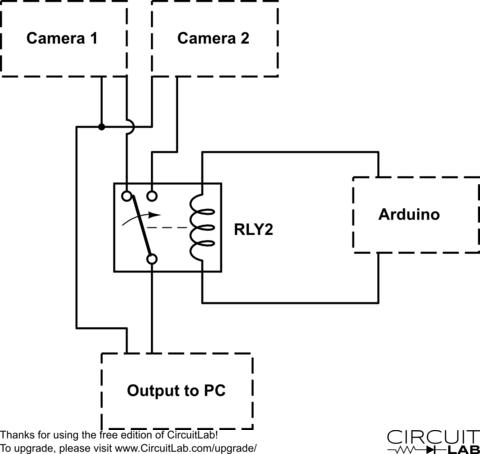 single pole double throw relay diagram