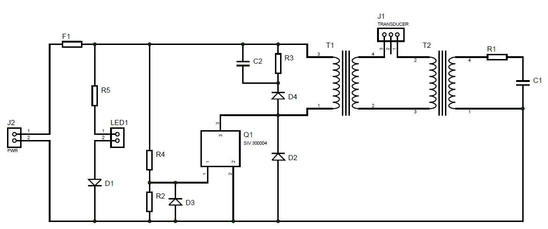 Ultrasound Generator Schematicultrasonic Generator Schematics car