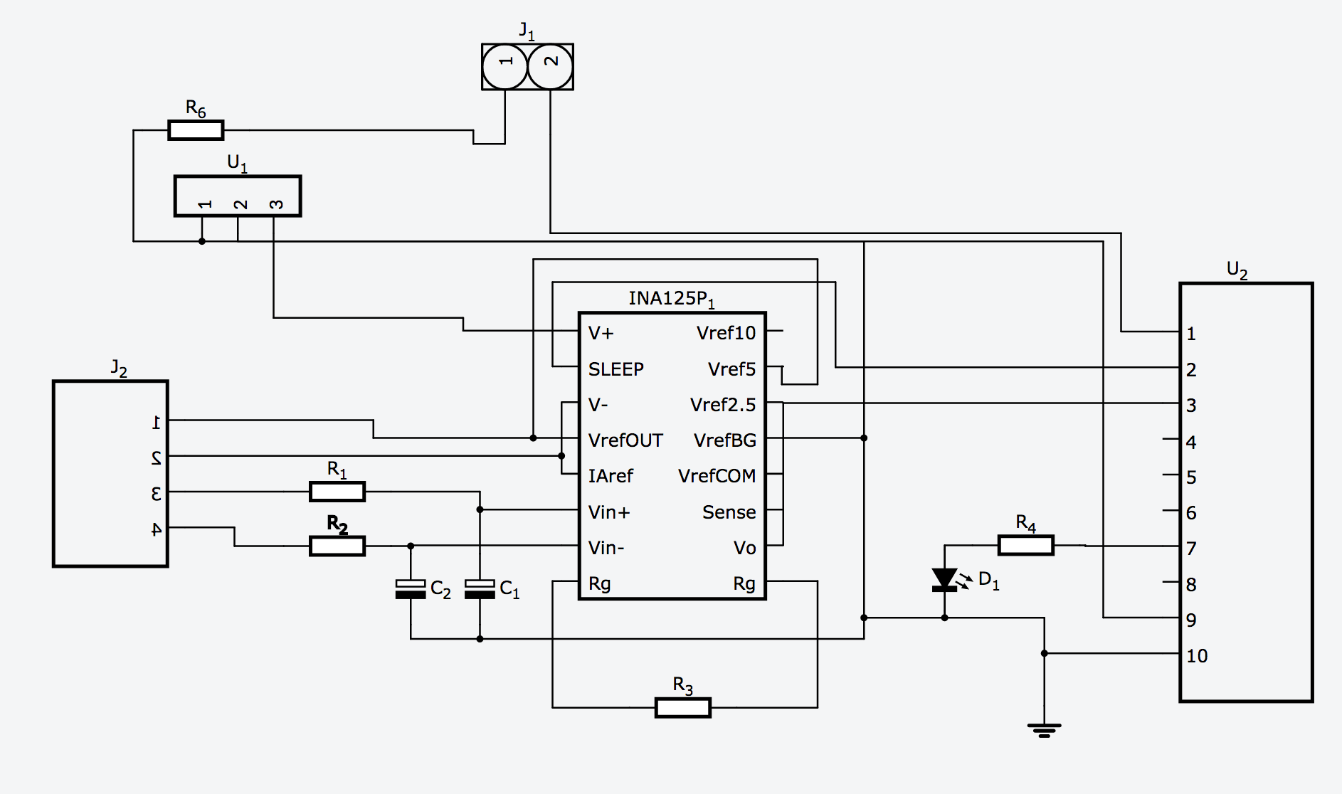 low noise instrumentation amplifier