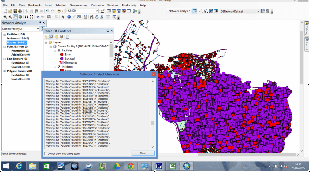 Trimble Gps Analyst Extension For Esri Arcgis For Desktop Arcgis Desktop Running Network Analyst For Closest