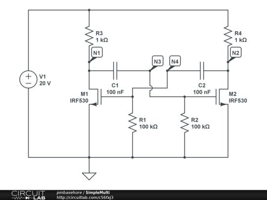 power mosfet circuit