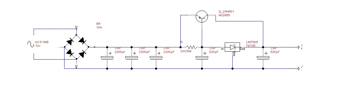 5v 5a Power Supply Circuit Circuit Diagram - 82tramitesyconsultas \u2022