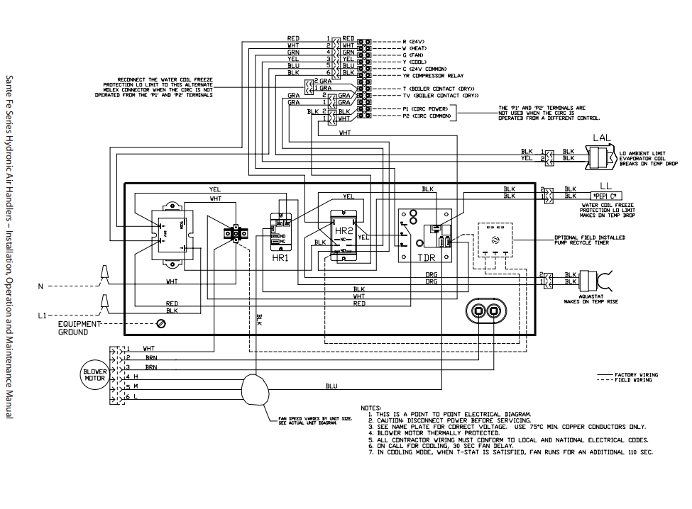 wiring diagram for air conditioner disconnect