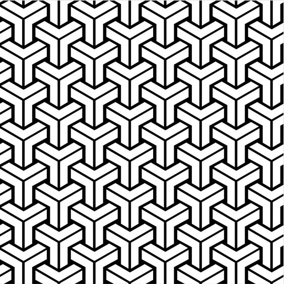 style identification - Name or author of tiling geometric pattern