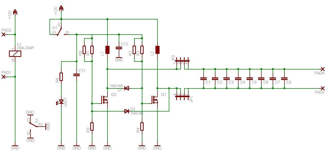 I need the most basic circuit diagram for wireless energy transfer