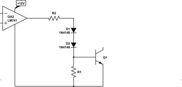 negative to positive voltage supply with lm741